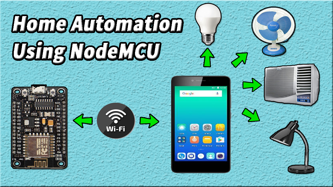 Home Automation Using NodeMCU ESP266 & Firebase