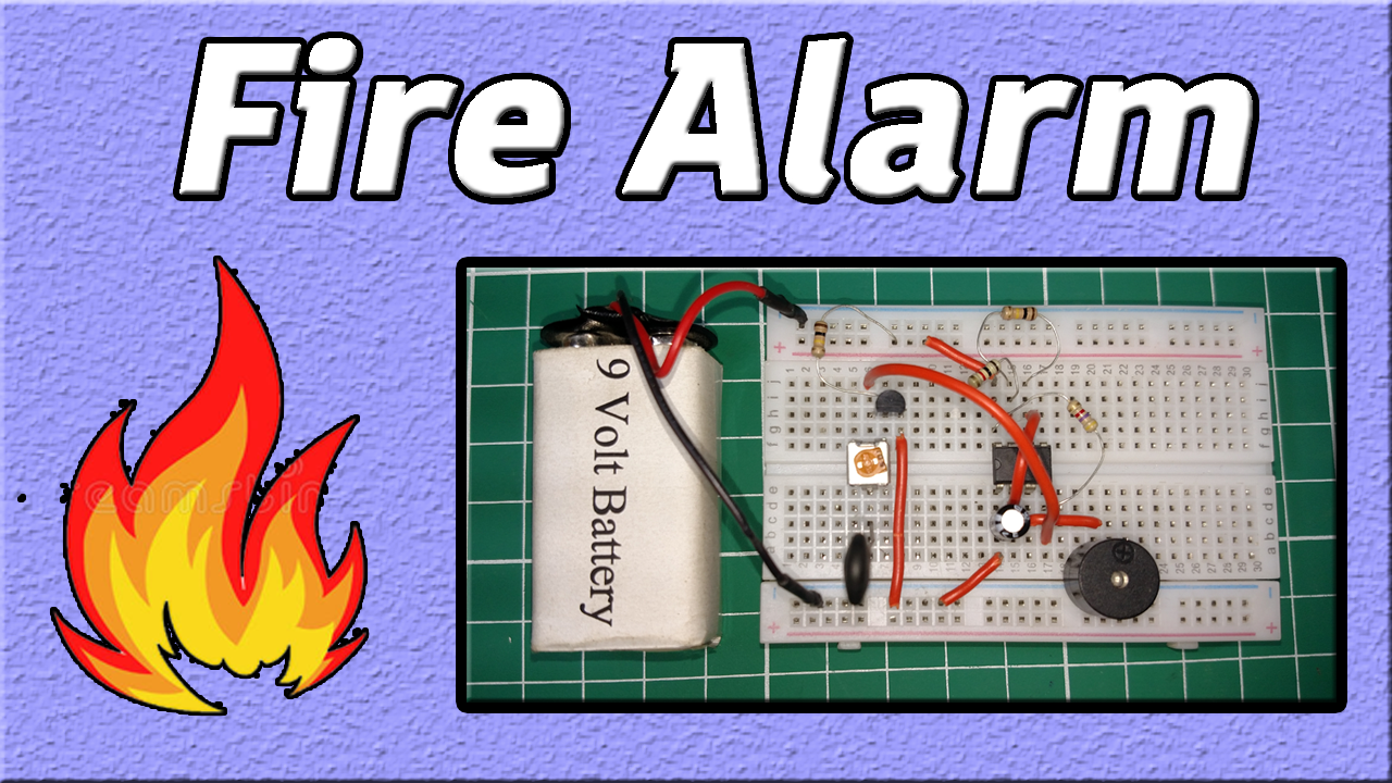 Alarm Circuit For Snoring Prevention By 555 Timer