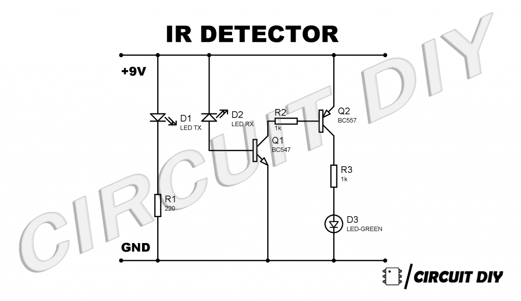 infrared detector circuit diagram using bc557 wiring diagram data val