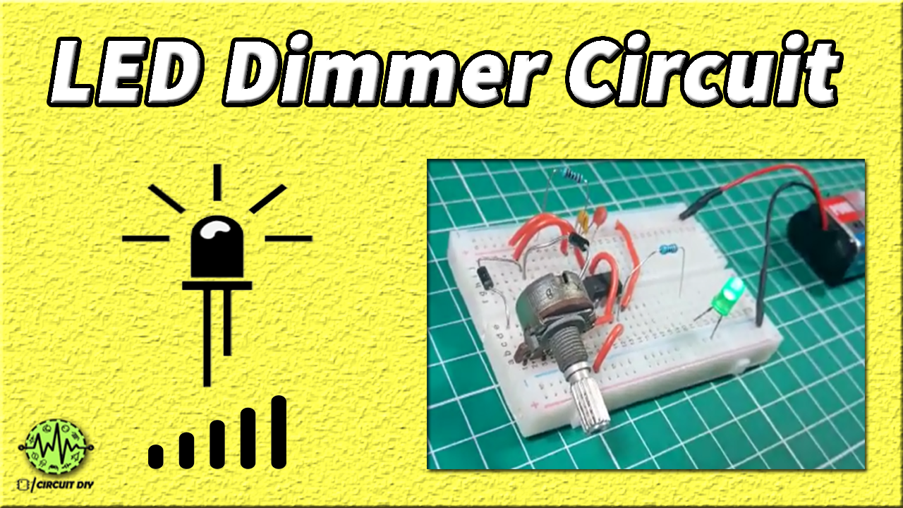 LED Dimmer Circuit using 555 Timer - Electronics Projects