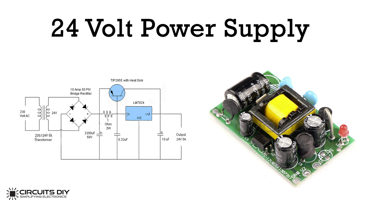 40 Volt 40 Ampere Power Supply Circuit