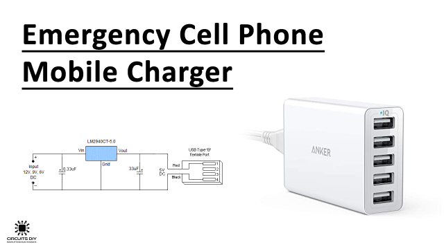 simple nicd battery charger circuit