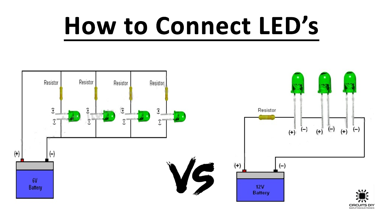 How To Connect    Wire Led U0026 39 S