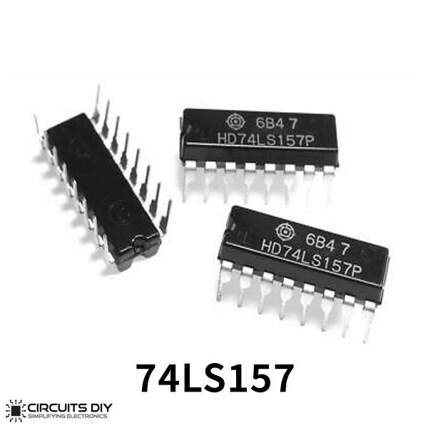 SN74LS157N 16-Pin DIP IC Quad Multiplexer