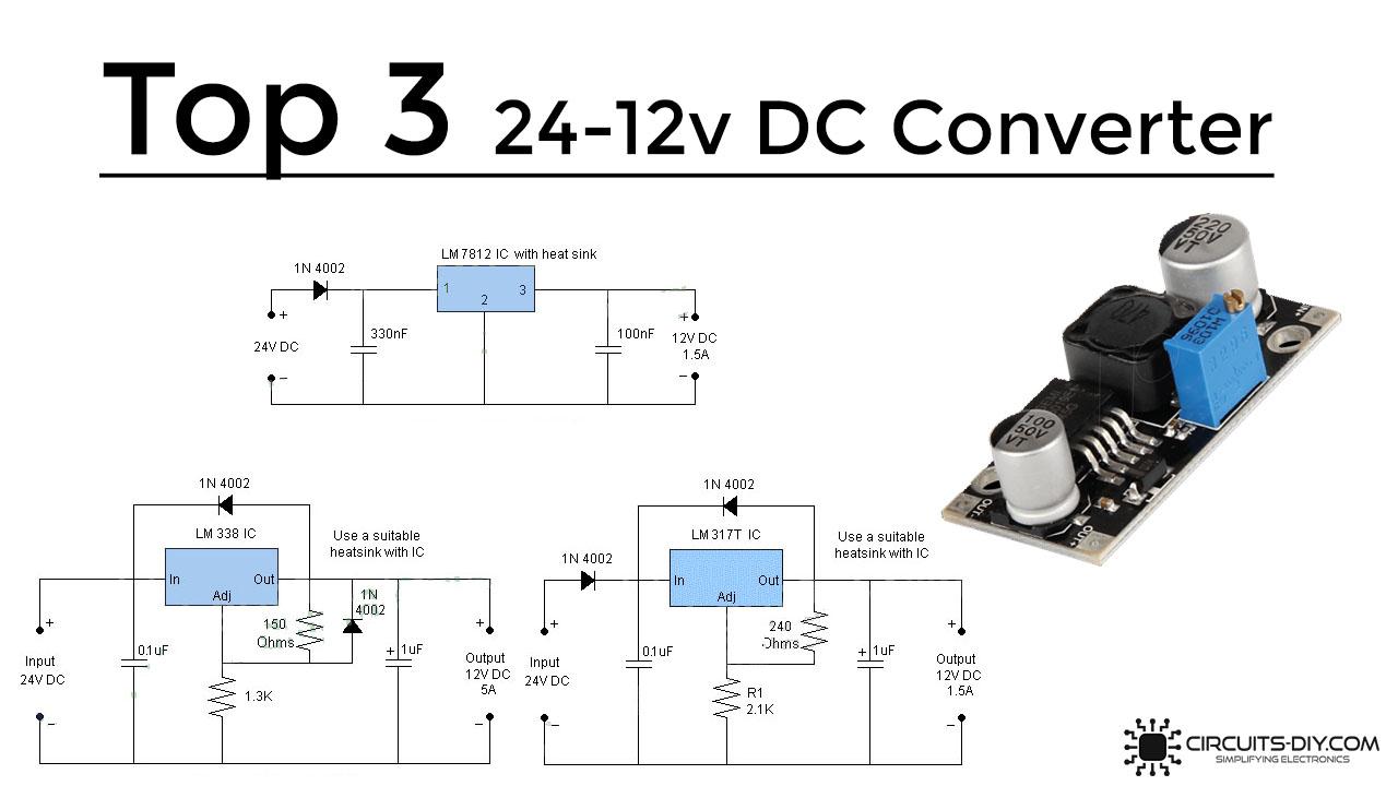 Top Three 40V to 40V DC to DC Converter Circuits